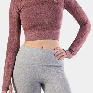 Jed North Long Supple Seamless Crop Top Size XS/S